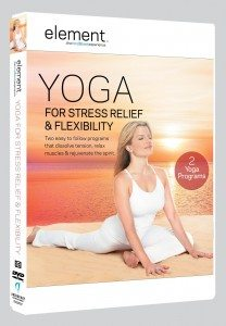 Yoga for Stress Relief + Flexibility DVD