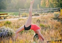 Ashley's weekly yoga classes in Aspen this winter!