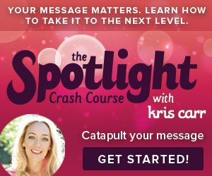 Spotlight Crash Course Kris Carr