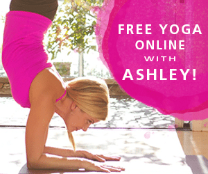 Get a FREE month of yoga online