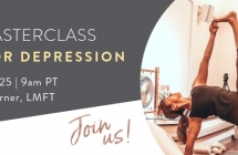 [Free Online Masterclass + Q&A] Yoga for Depression: Tools to Skillfully Navigate Difficult Emotions