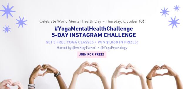 You Re Invited Free Yoga For Mental Health Ig Challenge Ashley Turner Ashley Turner
