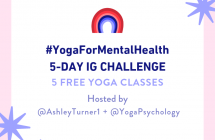 You're invited! FREE Yoga for Mental Health IG Challenge