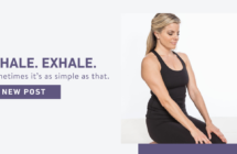 Inhale. Exhale. Sometimes it's as simple as that.
